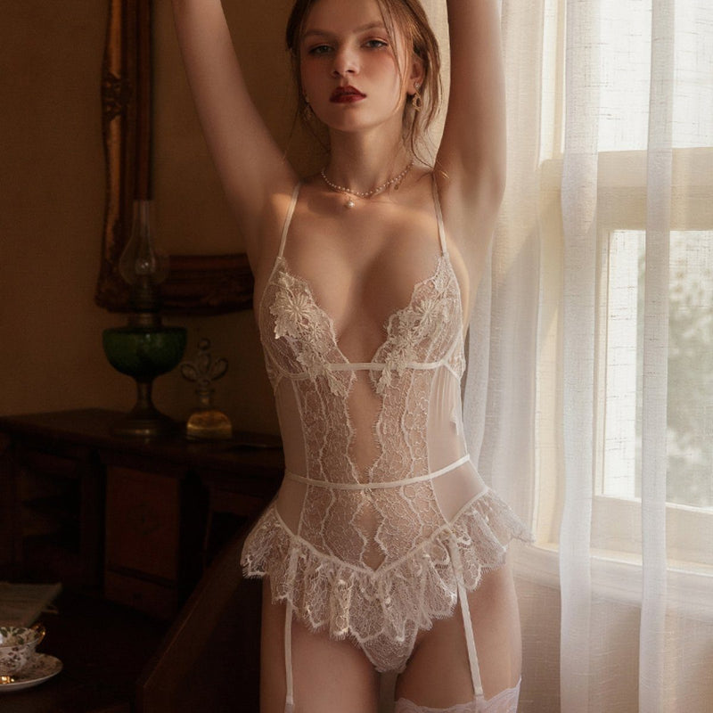 Erdeni lingerie set Intimates LOVEFREYA S White