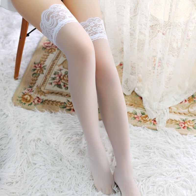Fine net stocking Accessories LOVEFREYA Free size White