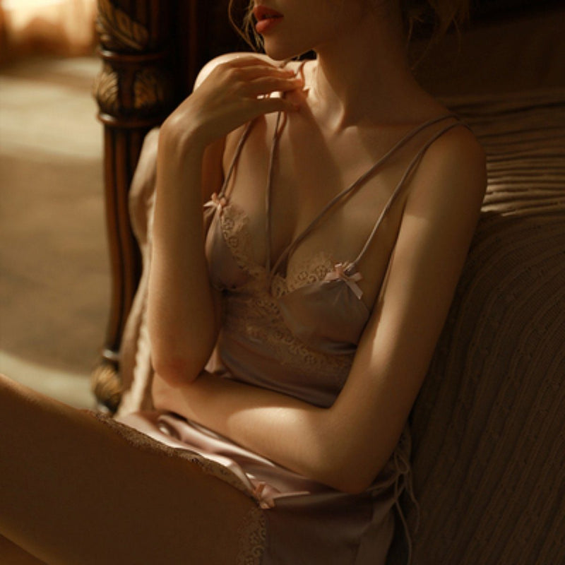 Frida satin slip Intimates LOVEFREYA