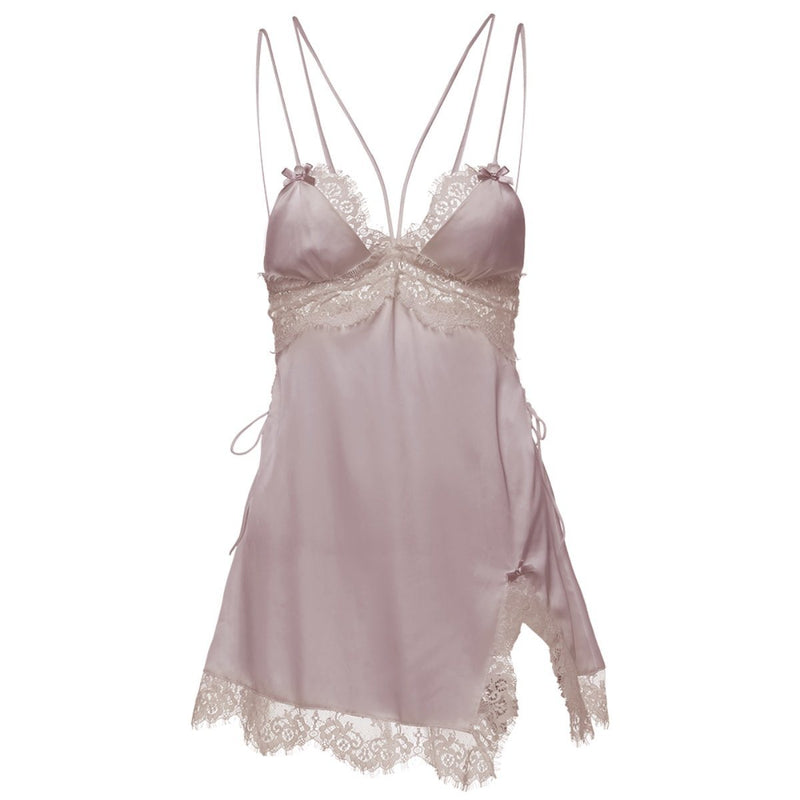 Frida satin slip Intimates LOVEFREYA S Pink