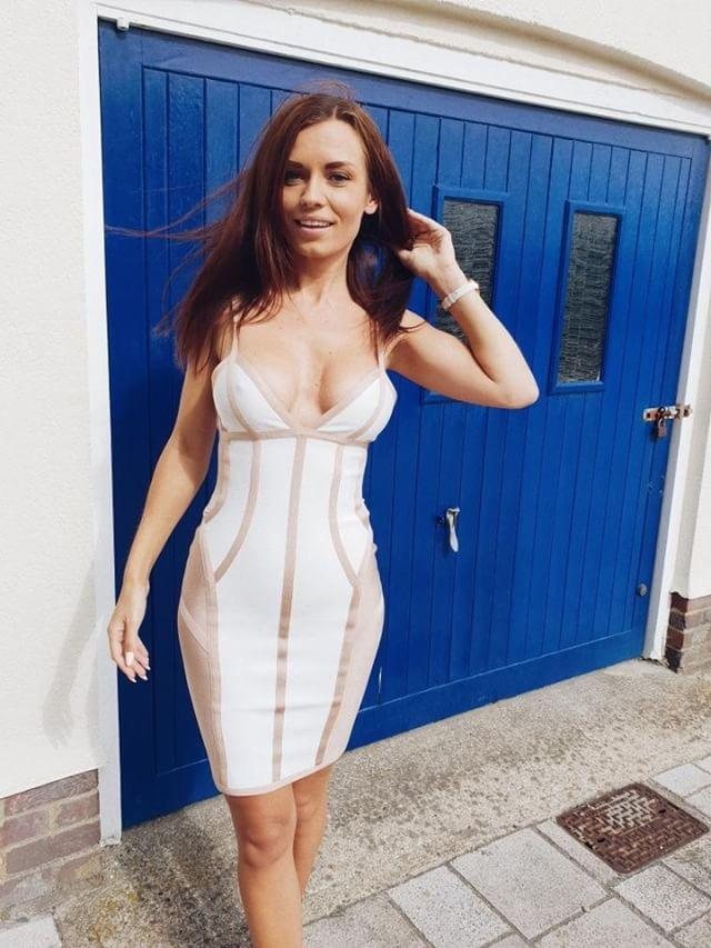 Gabby Bandage Dress Dress lovefreya.co