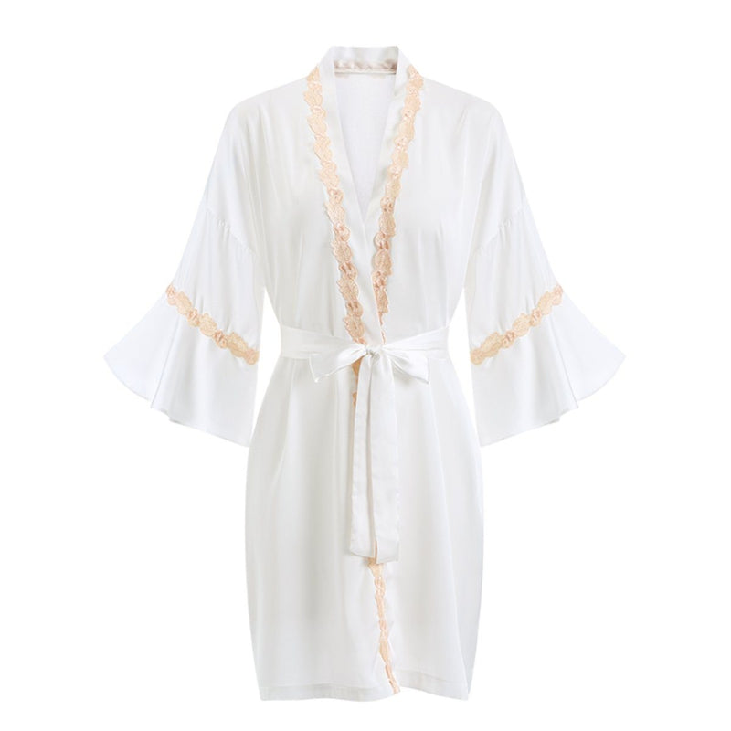 Georgina satin robe Intimates LOVEFREYA