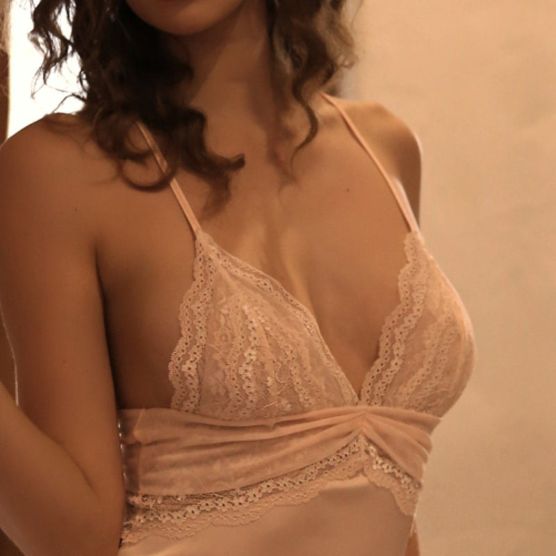 Jezebel satin slip Intimates Lovefreya Pte Ltd