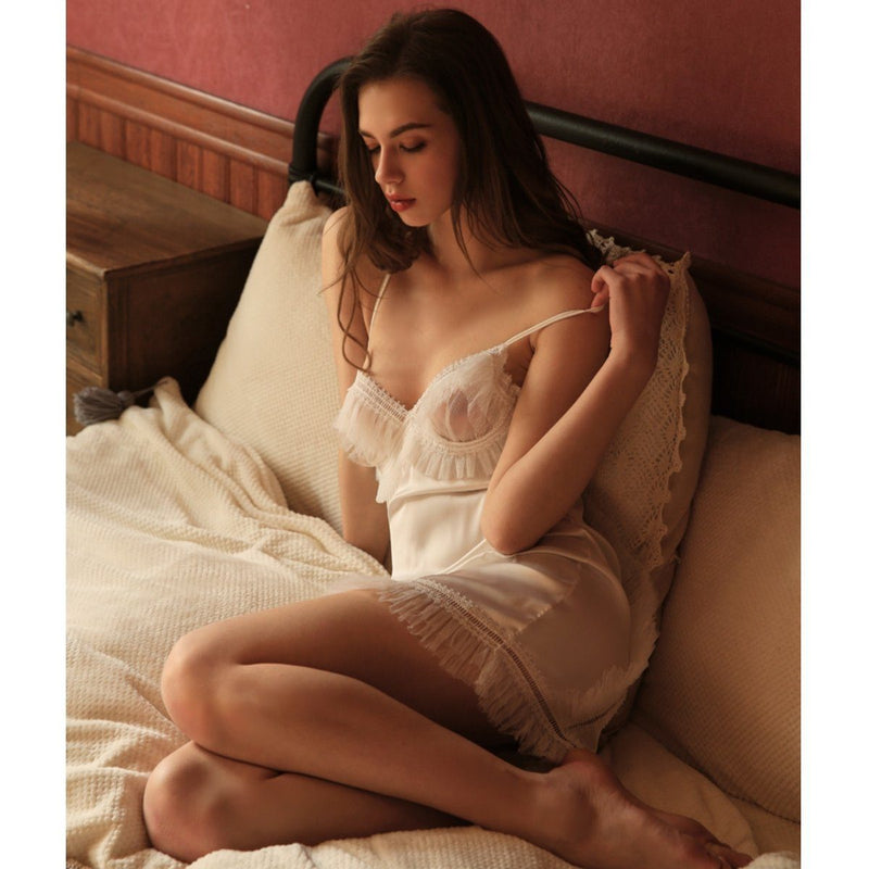 Jill satin slip Intimates LOVEFREYA