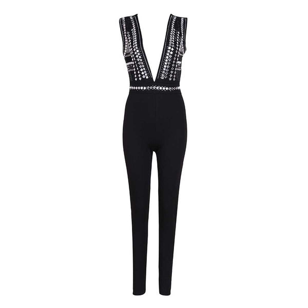 Kandil embellished jumpsuit Jumpsuit Lovefreya.co