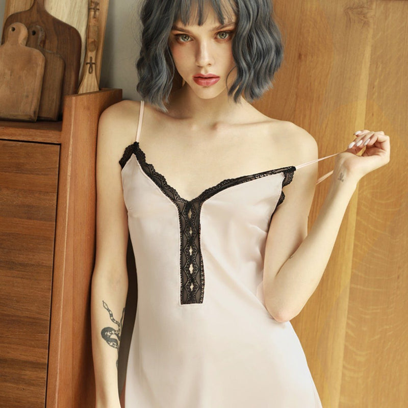 Kraimbrery satin slip and robe Intimates LOVEFREYA S Pink Slip only