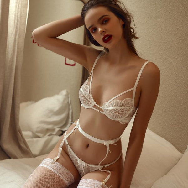 Lahana lingerie set Intimates Lovefreya Pte Ltd White