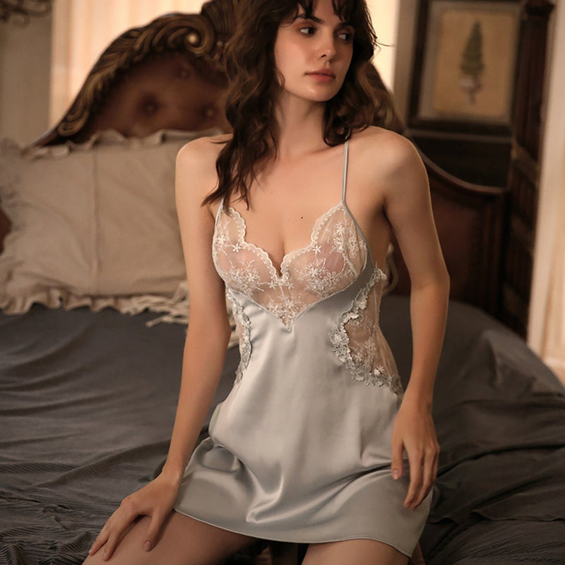 Lana satin slip Intimates LOVEFREYA