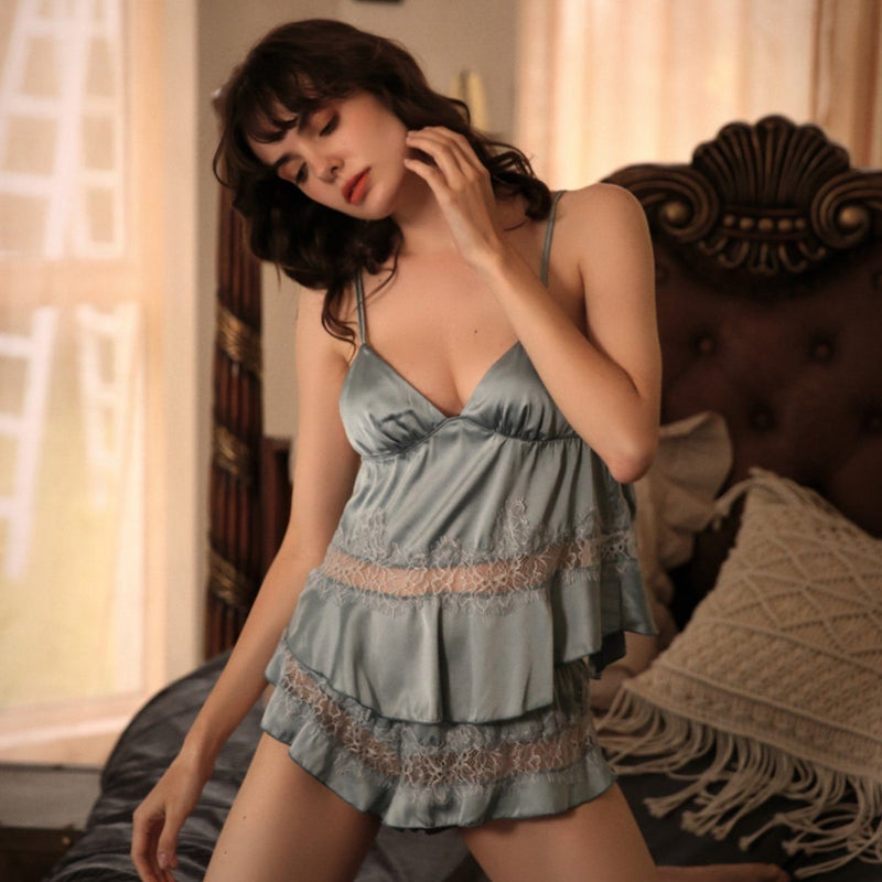Leonida cami set Intimates LOVEFREYA S (Cami set) Blue