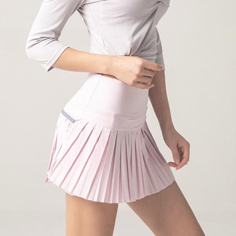 Lola pleated skorts Bottom LOVEFREYA S Pink