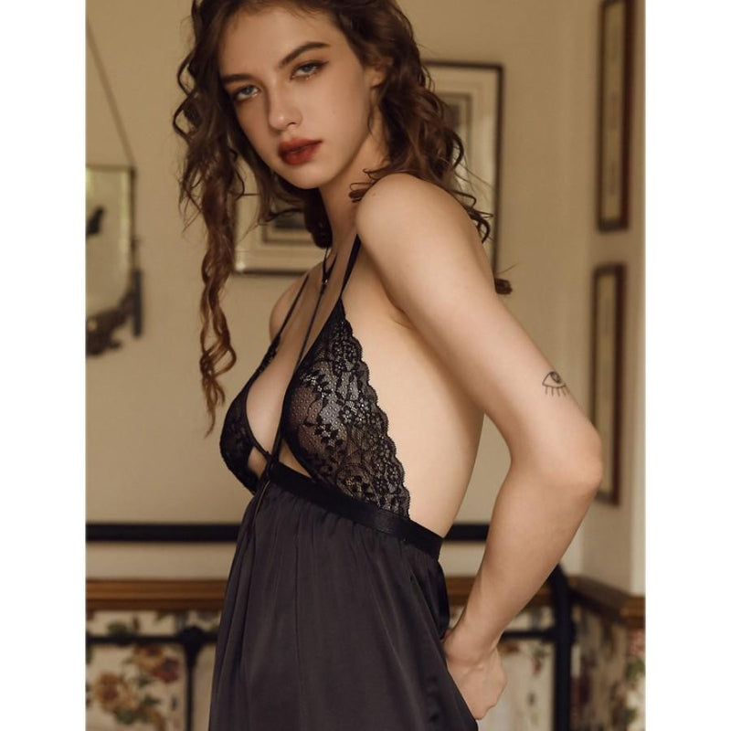 Marcella satin slip Intimates Lovefreya Pte Ltd