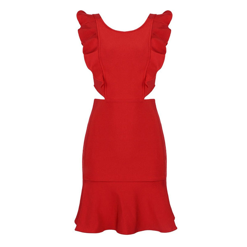 Morgan bandage dress Dress Lovefreya Pte Ltd XS Red