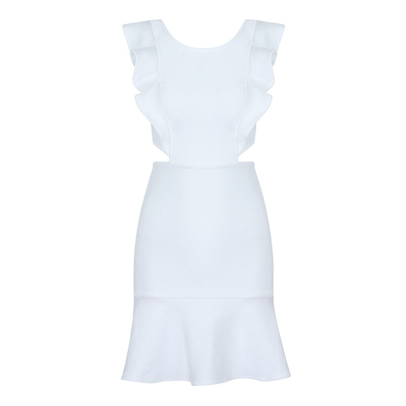 Morgan bandage dress Dress Lovefreya Pte Ltd XS White