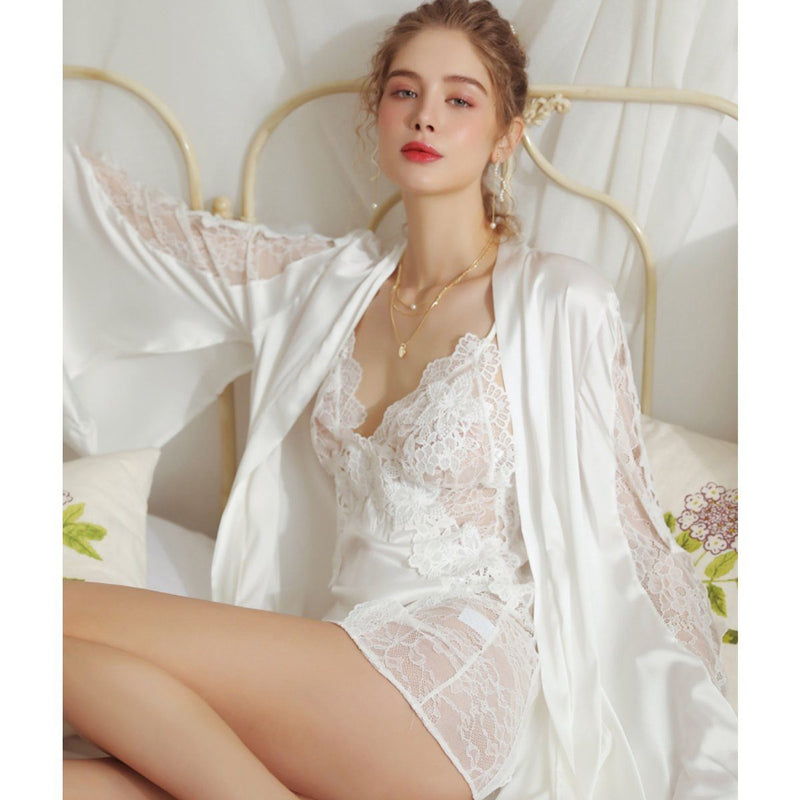 Nanette lace and satin slip Intimates LOVEFREYA