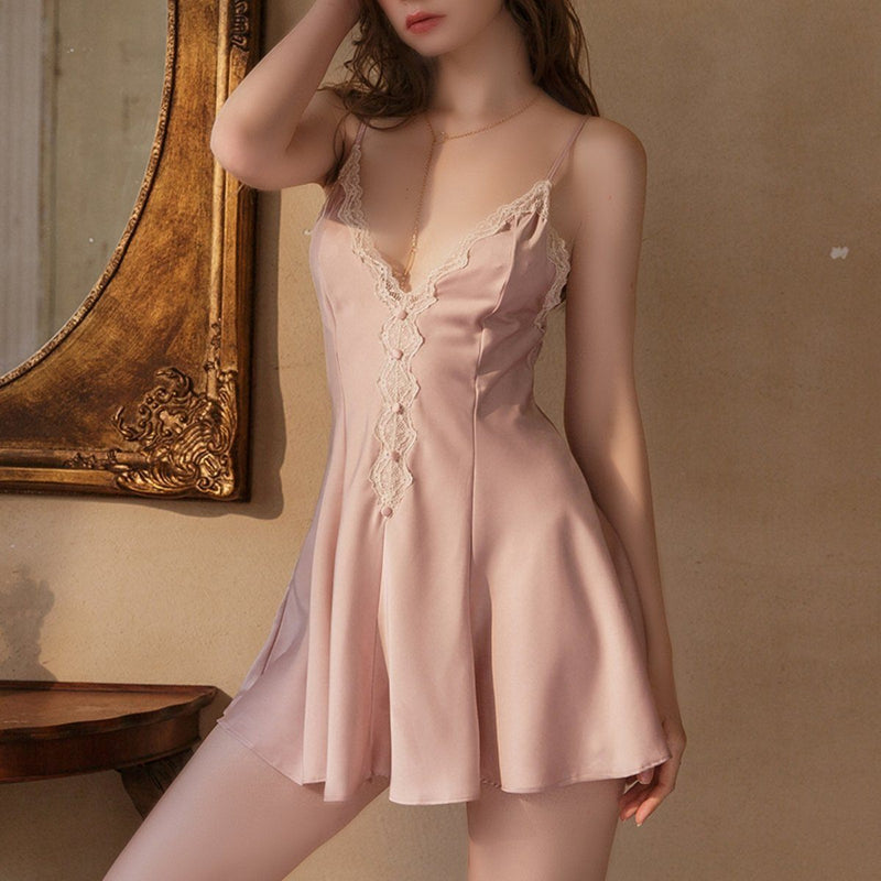 Nevetti satin slip Intimates LOVEFREYA S Pink