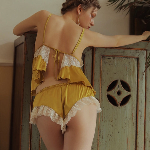 Pammie cami set Intimates LOVEFREYA S Yellow