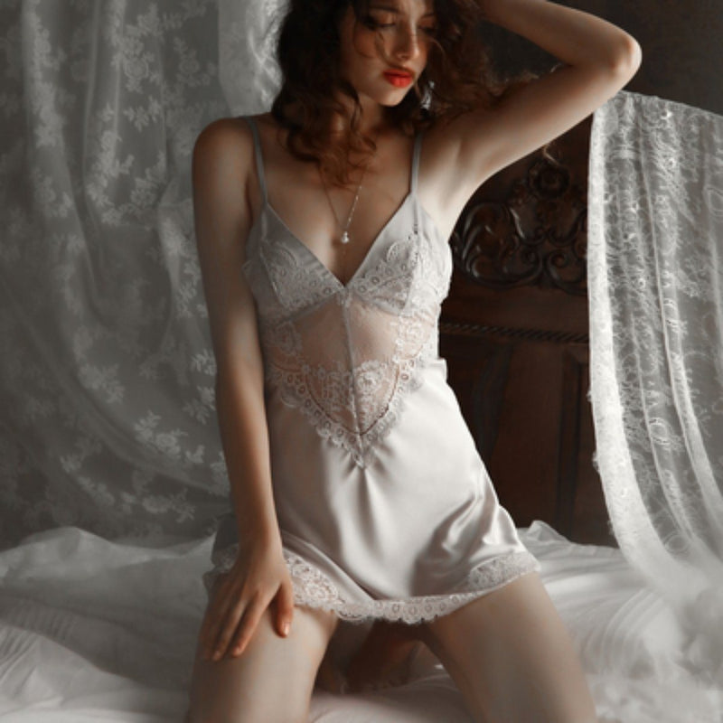 Shea satin slip Intimates LOVEFREYA S Grey