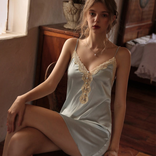 Shilton satin slip Intimates LOVEFREYA S Blue