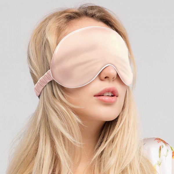 Silk eye mask Accessories LOVEFREYA Free size Pink