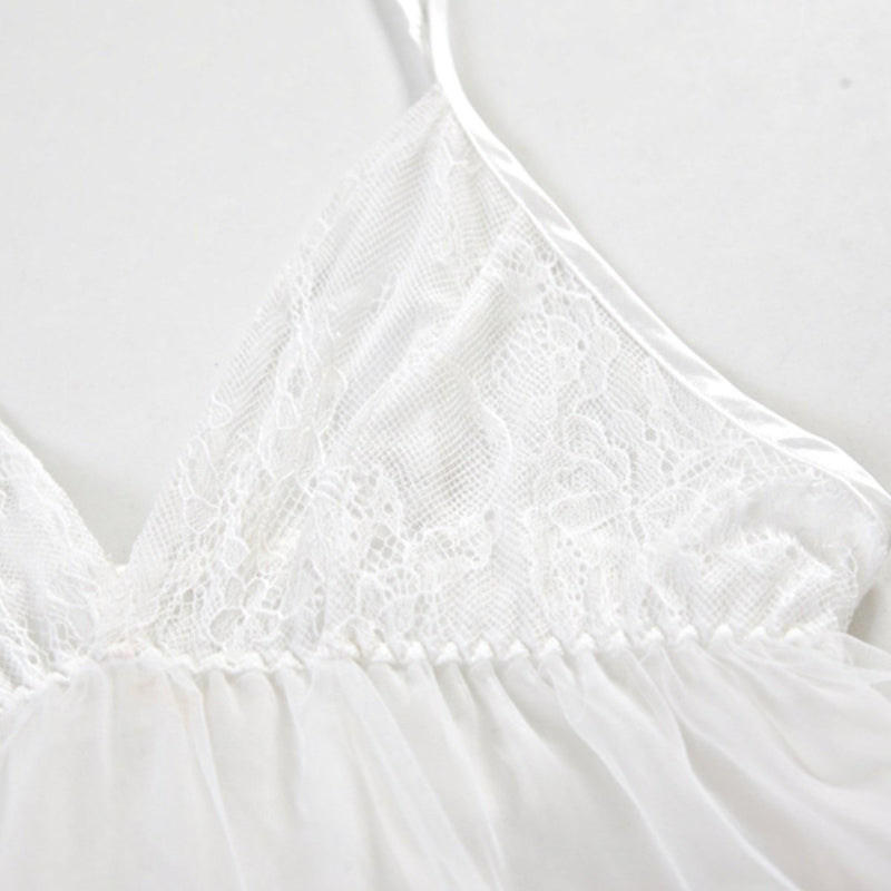 Snow white tiered slip set [Back-order, ships from June] Intimates LOVEFREYA