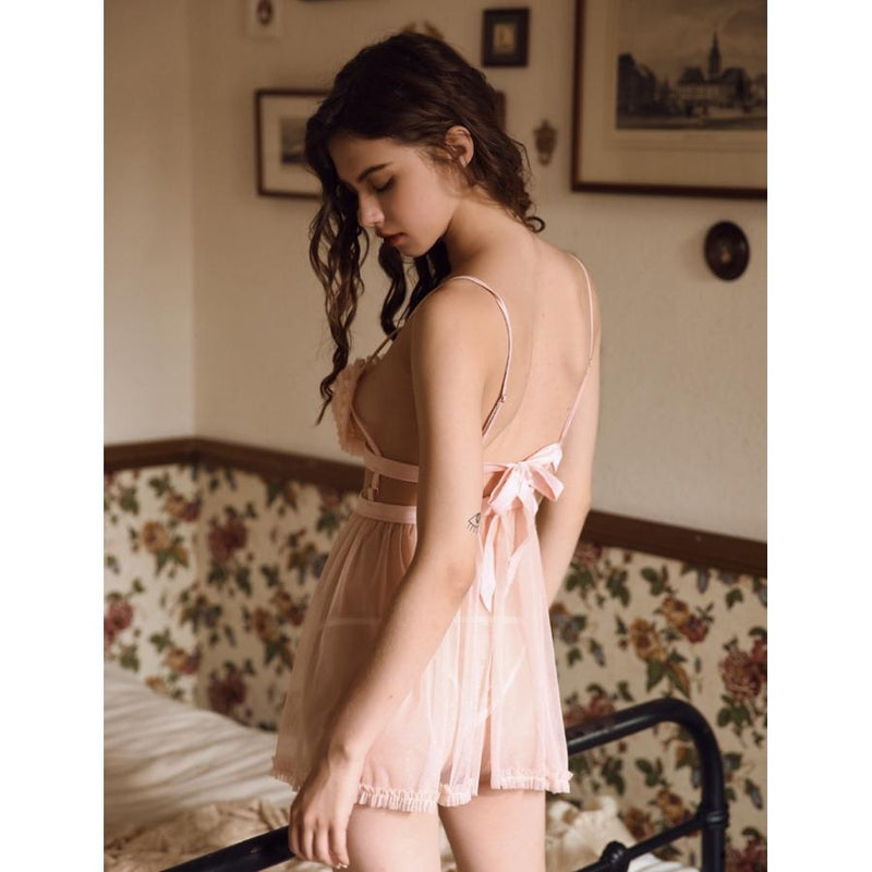 Sweetheart babydoll set Intimates Lovefreya Pte Ltd