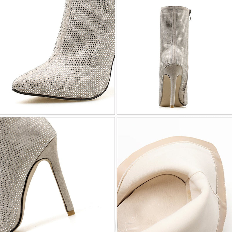 Tira crystal bootie Shoes Lovefreya.co