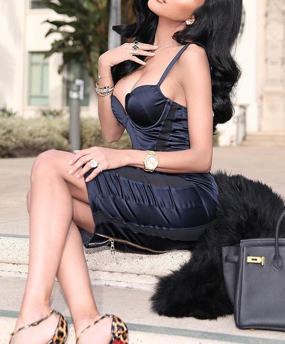Valentina satin bustier Dress Lovefreya.co