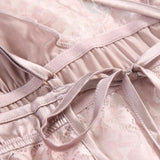Valin lace and satin slip Intimates Lovefreya Pte Ltd