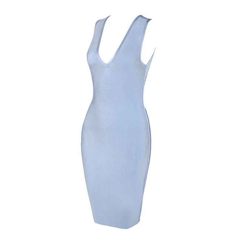 Viona bareback bandage Dress Lovefreya.co