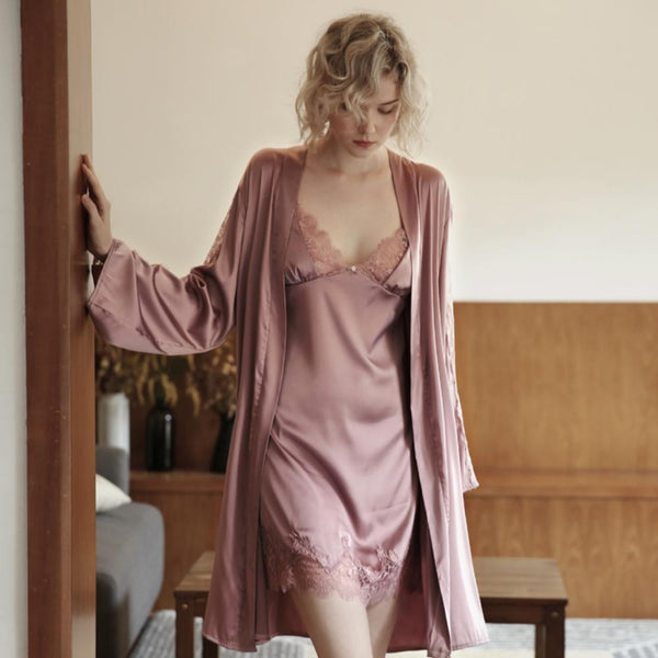 Willow satin slip Intimates Lovefreya Pte Ltd Pink S