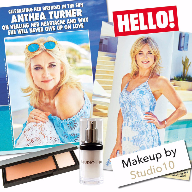 HELLO MAGAZINE- ANTHEA TURNER