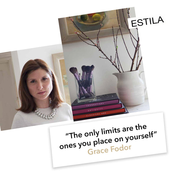 January 2017, Estila Features Grace Fodor