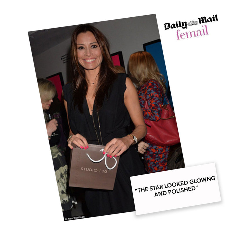 MELANIE SYKES Attends Launch of Studio10 Beauty
