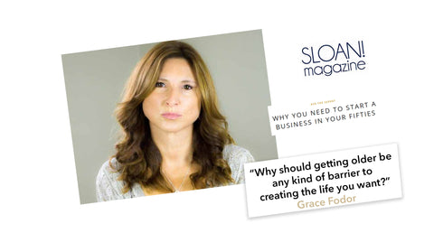 sloan mag features Grace Fodor