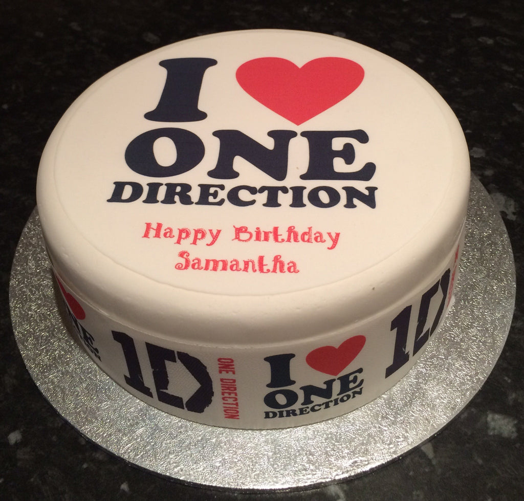 Brilliant One Direction 1D Edible Icing Cake Topper 05 The Caker Online Funny Birthday Cards Online Elaedamsfinfo
