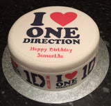 One Direction 1D Edible Icing Cake Topper 05