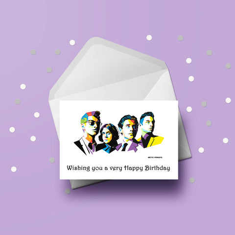 Arctic Monkeys Card
