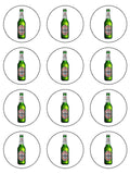 Beer Edible Icing Cake Topper 04 Beck's