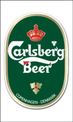 Beer, Lager Label Edible Icing Topper 04 Carlsberg