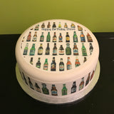 Bottles of Beer Edible Icing Cake Topper
