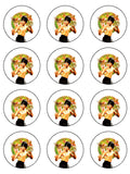 Bruce Lee Edible Icing Cake Topper 01
