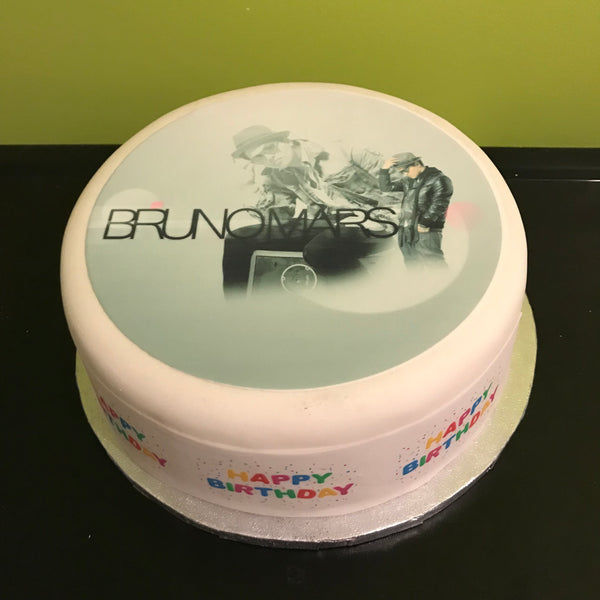 Bruno Mars Edible Icing Cake Topper 02