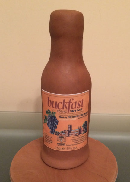Buckfast Tonic Wine Label Edible Icing Topper The Caker