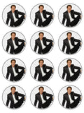 Cliff Richard Edible Icing Cake Topper 01