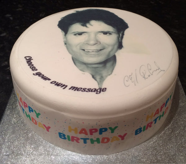 Cliff Richard Edible Icing Cake Topper 02
