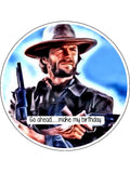 Clint Eastwood Edible Icing Cake Topper 02
