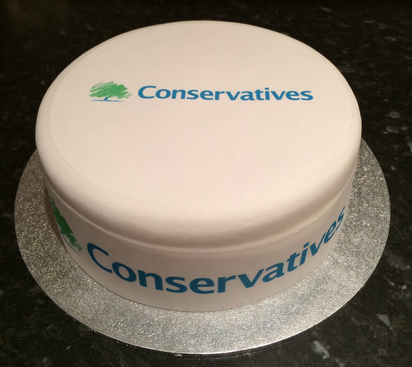 Conservative Party 01 Edible Icing Cake Topper
