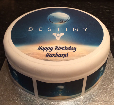 Destiny Edible Icing Cake Topper 03