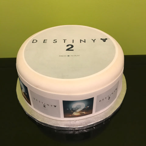 Destiny 2 Edible Icing Cake Topper 01