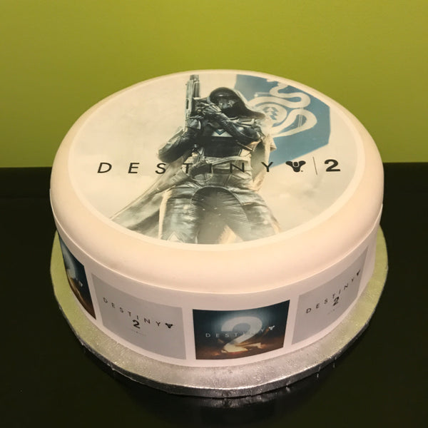 Destiny 2 Edible Icing Cake Topper 02